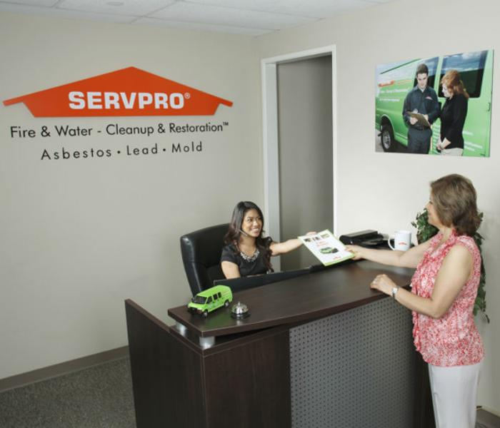 SERVPRO Reception Area: A water, fire, mold remediation and removal company in Yorba Linda/Brea