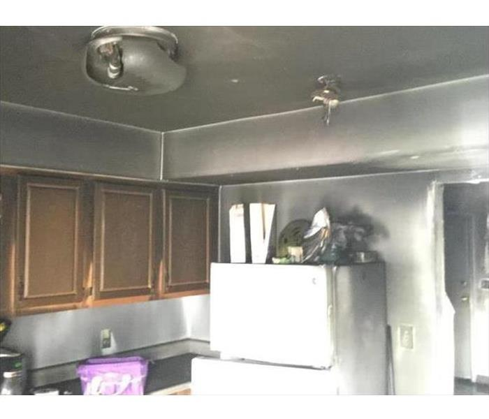 Soot Damage in a Santa Ana Home