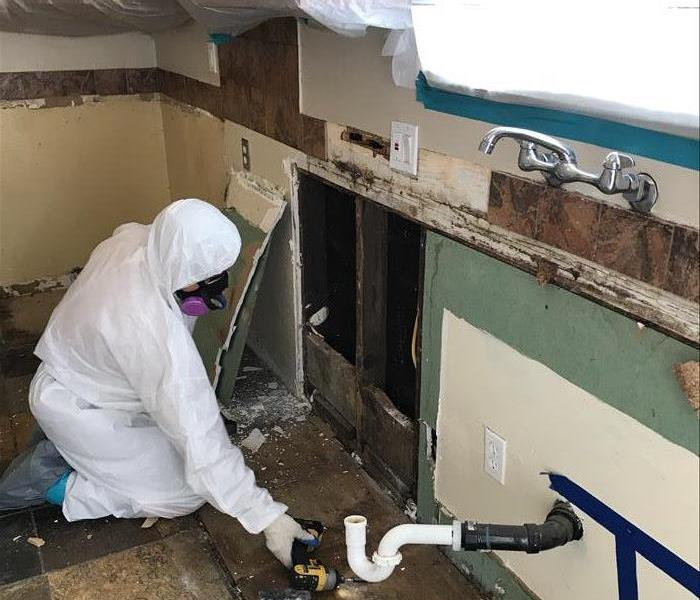 Mold Remediation Little Holes Create BIG Problems... But SERVPRO Yorba Linda/ Brea Makes You Feel Like It Never Even Happened!