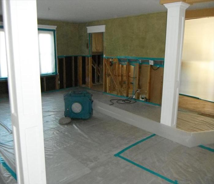 Mold Remediation Mold Removal after Water Damage Occurs in a Yorba Linda, CA Home