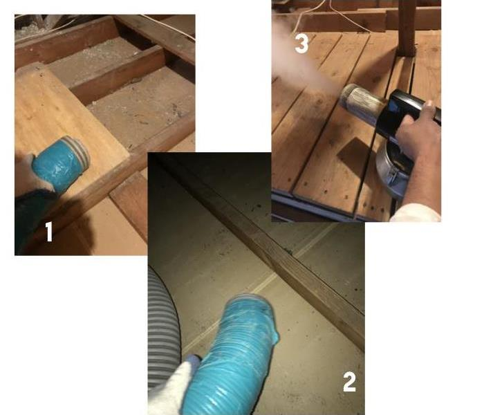 Attic Ash Clean Up